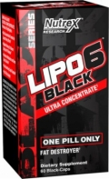 Lipo6 Black Ultra Concentrated